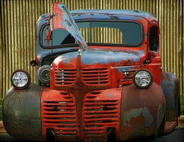 Digital Art - Billy Bobs Low Rider by Gary Baird