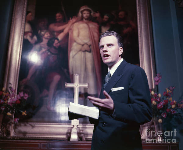 Protestant Photograph - Billy Graham Jr. by The Harrington Collection