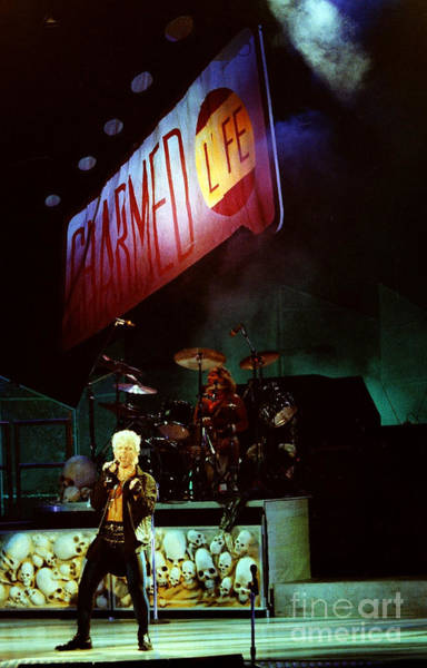 Billy Idol Photograph - Billy Idol 90-2277 by Gary Gingrich Galleries