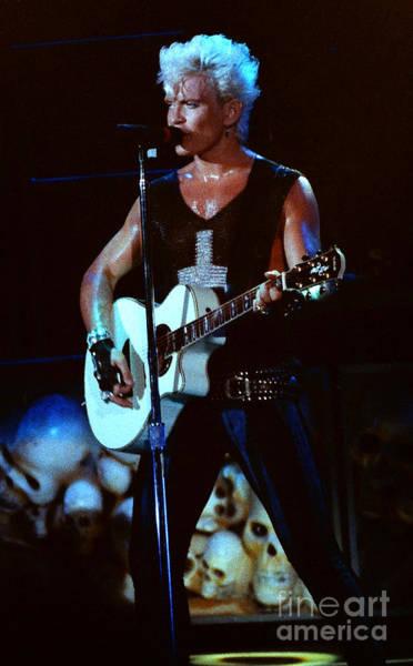 Billy Idol Photograph - Billy Idol 90-2302 by Gary Gingrich Galleries