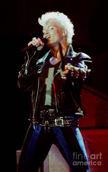 Billy Idol Photograph - Billy Idol 90-2323 by Gary Gingrich Galleries