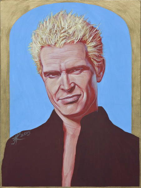 Painting - Billy Idol by Jovana Kolic