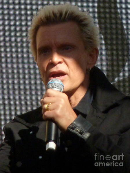 Billy Idol Photograph - Billy Idol by Eclectic Captures