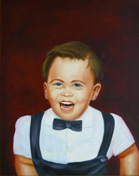 Painting - Billy by Joni McPherson