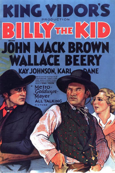 Wall Art - Mixed Media - Billy The Kid 1930 by Movie Poster Prints