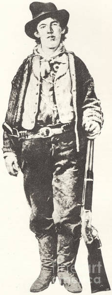 Law School Wall Art - Drawing - Billy The Kid by American School