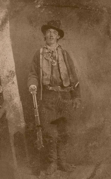 County Antrim Wall Art - Photograph - Billy The Kid by War Is Hell Store