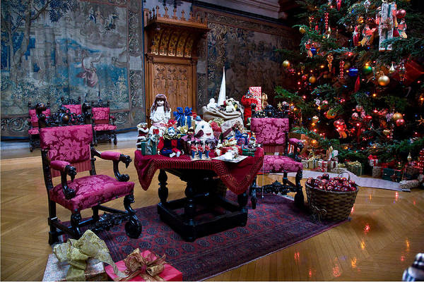Photograph - Biltmore Christmas   by William Jobes