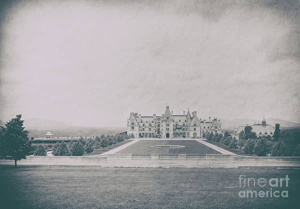 Photograph - Biltmore Estate In 1895 by Dale Powell
