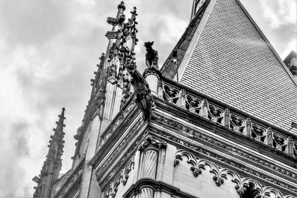 Wall Art - Photograph - Biltmore House Roof by Mary Ann Artz