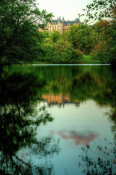 Photograph - Biltmore Reflection by Carol Montoya