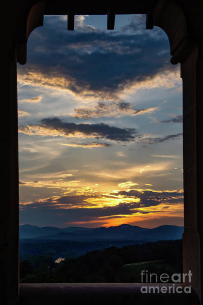Photograph - Biltmore Sunset by Charles Hite