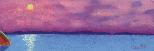 Pastel - Bimini Sunrise by Anne Katzeff