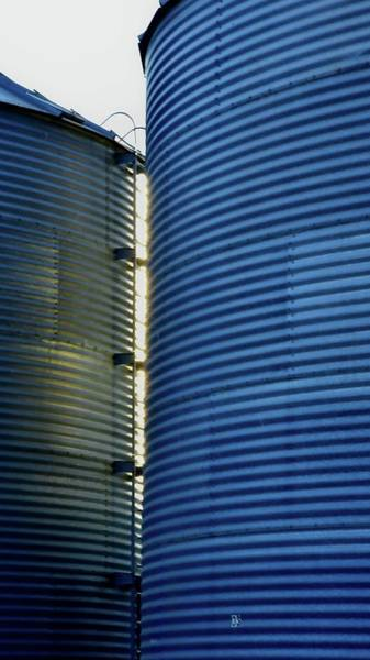 Photograph - Bin And Ladder by Jerry Sodorff