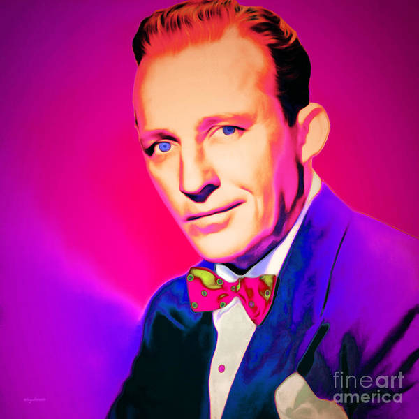 Photograph - Bing Crosby 20151226 Square by Wingsdomain Art and Photography