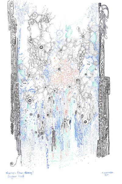 Painting - Bingham Fluid Or Paste by Regina Valluzzi