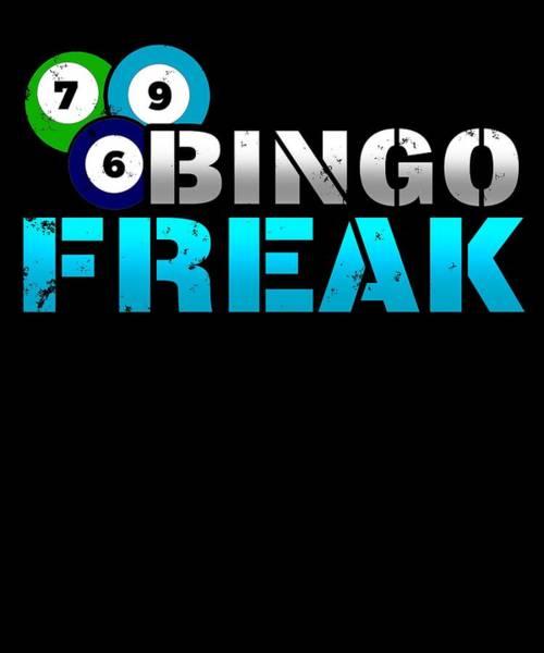 Caller Digital Art - Bingo Freak by Sourcing Graphic Design