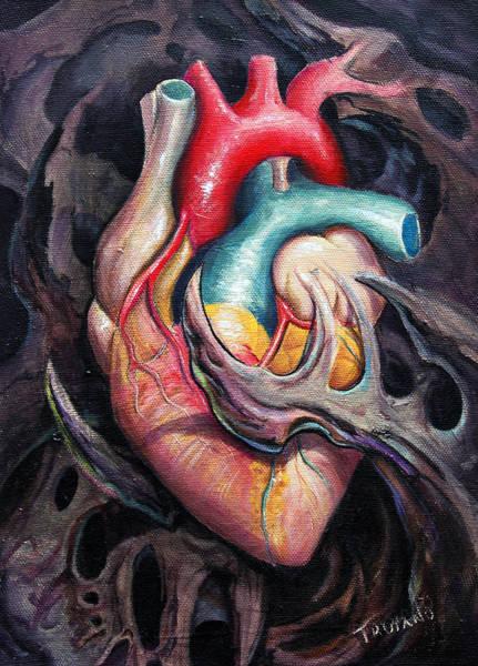 Medicine Painting - Bio Heart by Matt Truiano