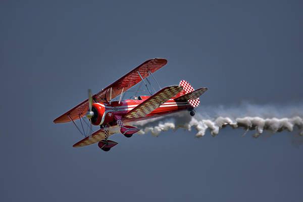 Photograph - Biplane by CA  Johnson