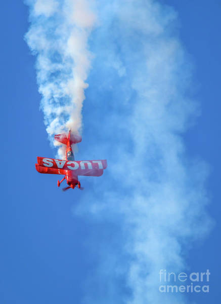 Photograph - Biplane Dive by Tom Claud