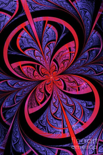 Flames Digital Art - Bipolar by John Edwards
