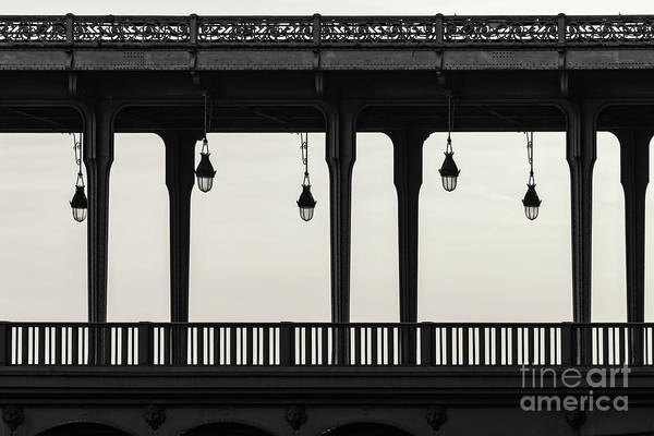 Light Photograph - Bir Hakeim by Delphimages Photo Creations