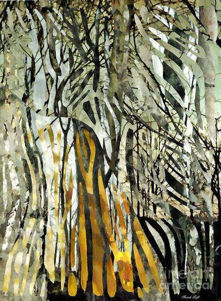 Business Mixed Media - Birch Forest by Sarah Loft