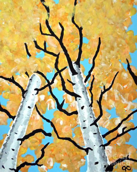 Painting - Birch Trees by Jilian Cramb - AMothersFineArt