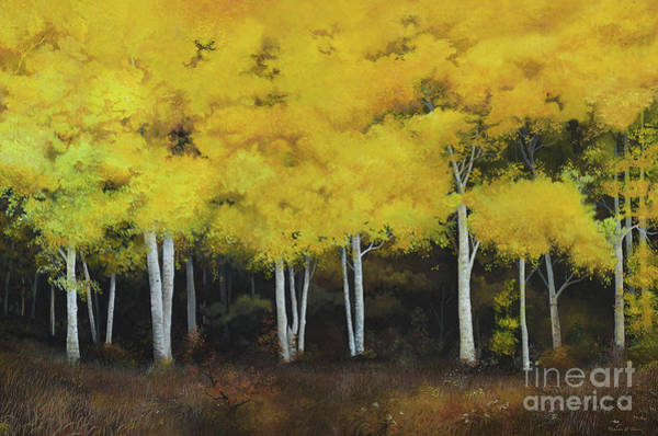 Painting - Birches by Charles Owens