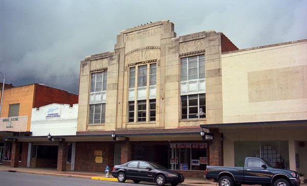 Photograph - Elizabethton Tennessee - Birchfiel Building 2008 by Frank Romeo