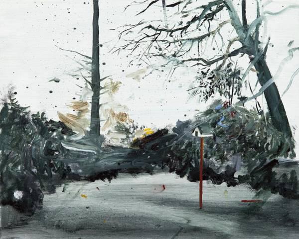 Birdhouse Painting - Bird Box by Calum McClure