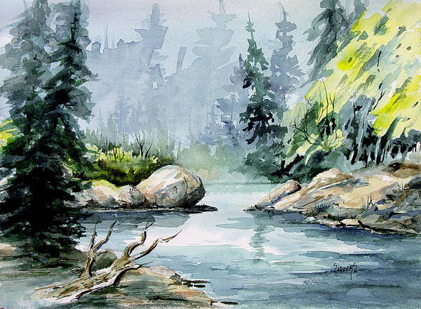 Painting - Bird Creek by Sam Sidders