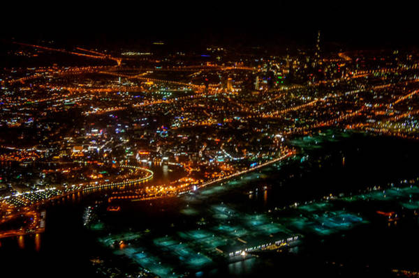 Wall Art - Photograph - Bird Eye View Of Dubai City by Art Spectrum