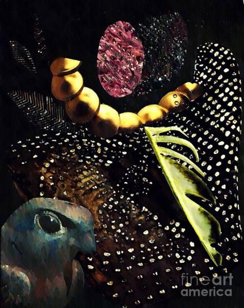 Feather Mixed Media - Bird God by Sarah Loft