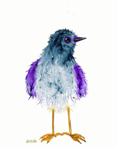 Painting - Bird Of A Different Color by Jan Killian