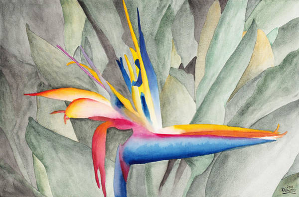 Painting - Bird Of Paradise by Ken Powers