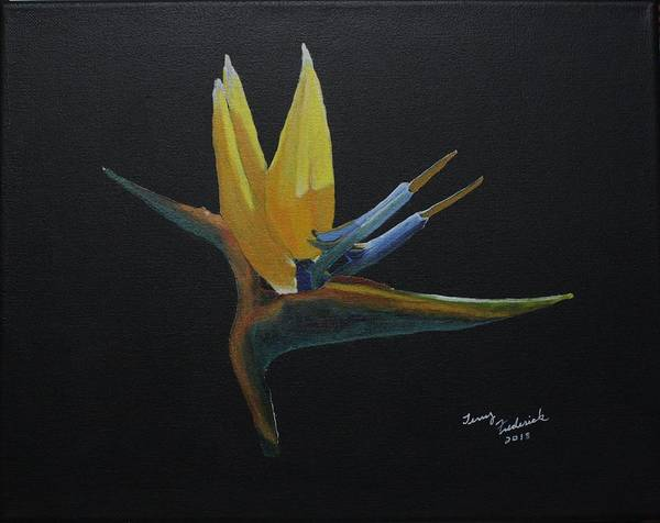 Painting - Bird Of Paradise by Terry Frederick