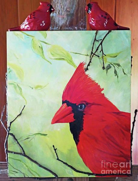 Painting - Bird Season by Lizi Beard-Ward