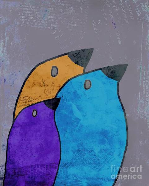 Simplicity Digital Art - Birdies - 02ac2bb by Variance Collections