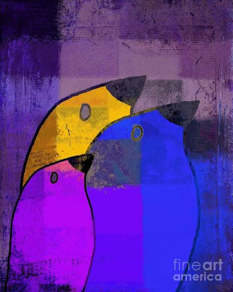 Simplicity Digital Art - Birdies - C02tj126v5c35 by Variance Collections
