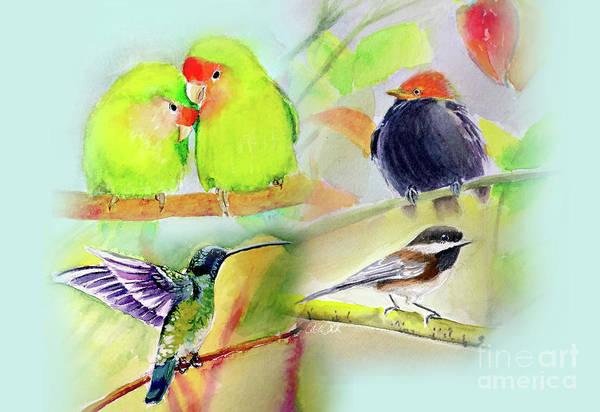 Painting - Birds by Allison Ashton