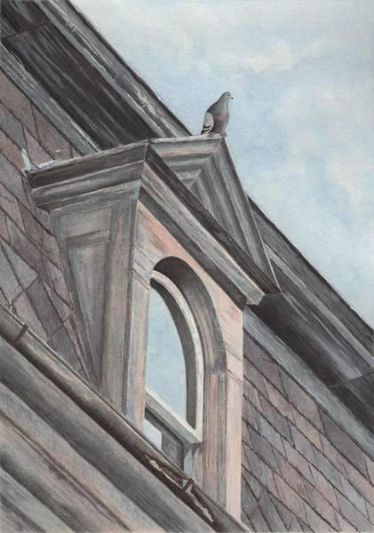 Painting - Bird's Eye View by Deborah Brown Maher