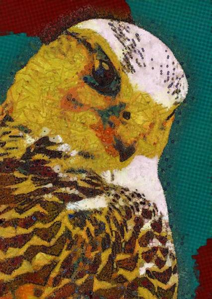 Digital Art - Bird's Eye View Green by Catherine Lott