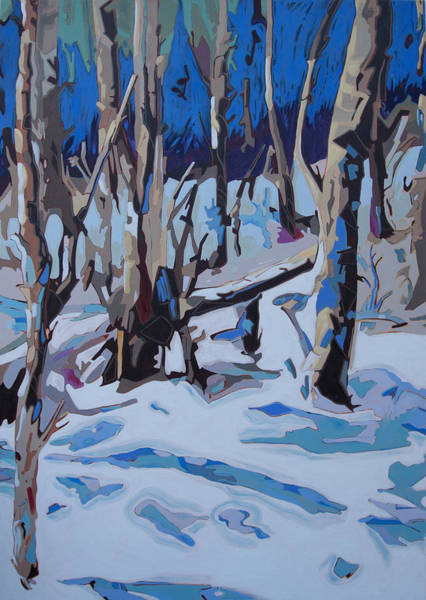 Painting - Birds Hill 6042.5 by Rob Owen