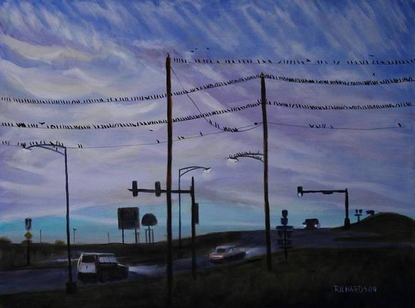 Stop Light Painting - Birds by Kyle Richardson