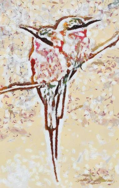 Digital Art - Bird's Views by Catherine Lott