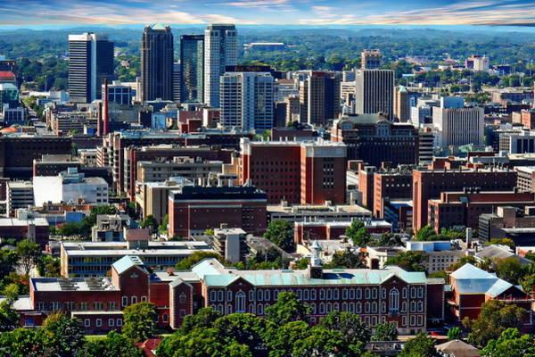 Photograph - Birmingham - Alabama by Anthony Dezenzio
