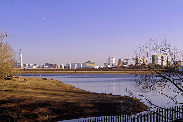 Photograph - Birmingham City Skyline by Tony Murtagh