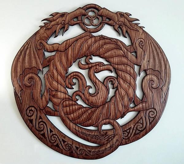 Wall Art - Sculpture - Birth Of The Phoenix by Matthew Ridgway