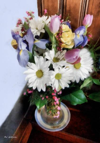 Painting - Birthday Bouquet by RC DeWinter